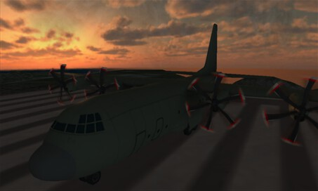 Flight Simulator C130 Training - 1