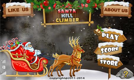 Santa Hill Climb Jumping - 1