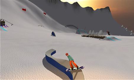 Mad Snowboarding - 2