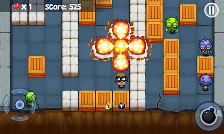 Bomberman vs. Zombies - 4