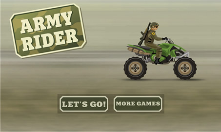 Stunt Bike - Army Rider - 1