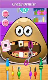 Baby Pou At Dentist - 4