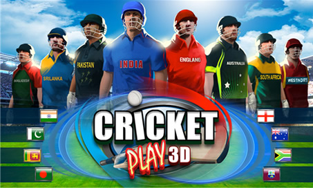 Cricket Play 3D - 1
