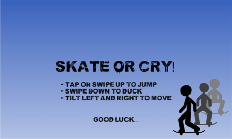 Skate or Cry - 1