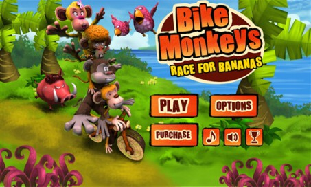 Bike Monkeys: Race for Bananas - 1