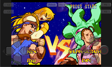 Marvel Super Heroes vs. Street Fighter - 4