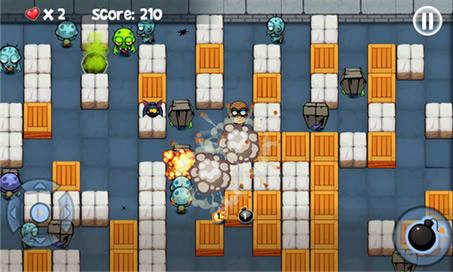 Bomberman vs. Zombies - 1