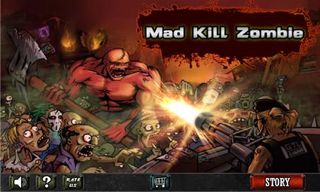 Mad Kill Zombie - 1