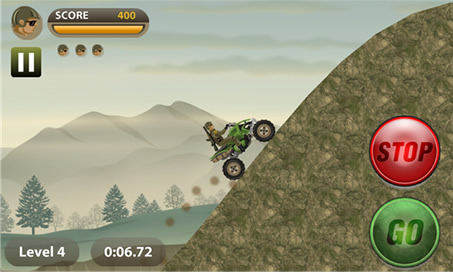 Stunt Bike - Army Rider - 2
