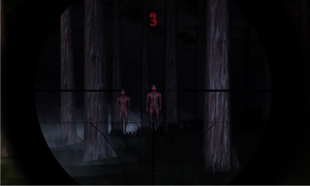 Dark Horror Forest 3D Dead Army PRO Zombie Sniper - 2