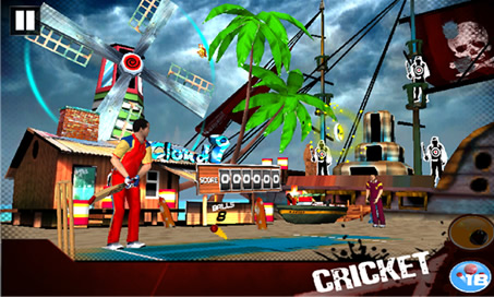 Cricket 3D World Street Challenge - 3
