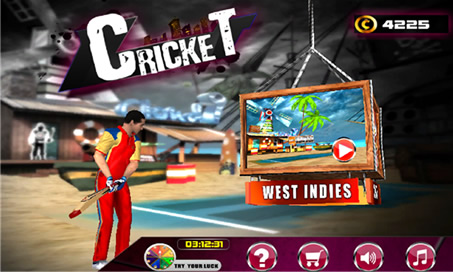 Cricket 3D World Street Challenge - 1