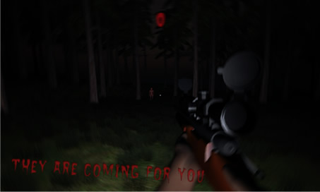 Dark Horror Forest 3D Dead Army PRO Zombie Sniper - 1