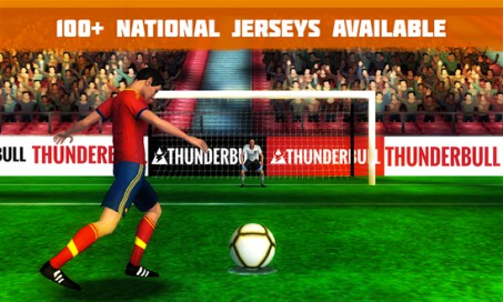 Penalty Kick: Flick Soccer Football Goal League 15 - 4