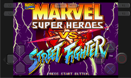 Marvel Super Heroes vs. Street Fighter - 1