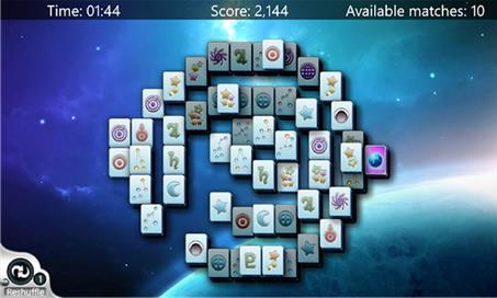 Microsoft Mahjong - 1