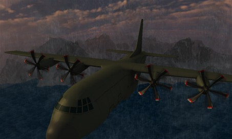 Flight Simulator C130 Training - 2