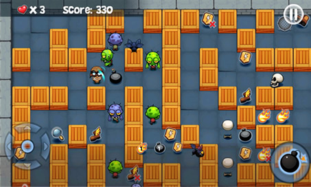 Bomberman vs. Zombies - 2