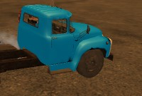 Russian Car Driver ZIL 130