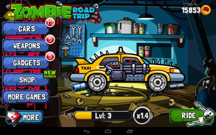 zombie road trip android apk jouer en ligne ou t l charger sur panda jeux gratuits. Black Bedroom Furniture Sets. Home Design Ideas